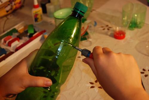 Как сделать фонтан своими руками из бутылки